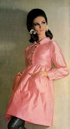 Wilhelmina, Vogue 1965  I have this one in white. For summer. Love it. Feel good in it.