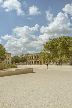 France Nimes - Arena of Nimes - Amphitheatre in Nîmes, France