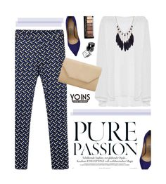 """Yoins 28/3.2"" by merima-kopic ❤ liked on Polyvore featuring Salvatore Ferragamo, Halogen, NYX, yoins and yoinscollection"