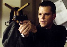 . Matt Damon as Jason Bourne in The Bourne Ultimatum (2007)