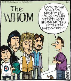 Reality Check: The Who(m) Music Jokes, Music Humor, Aardvark Cartoon, Fowl Language Comics, Teacher Comics, King Cartoon, Black Cat Appreciation Day, Library Humor, Redneck Humor
