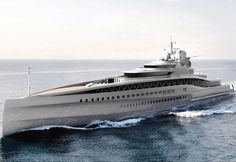 Amazing Yachts: Fincantieri Fortissimo Superyacht concept by Ken Freivokh Design