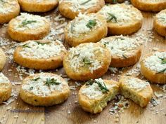 Rosemary Parmesan Biscuits that melt in your mouth!