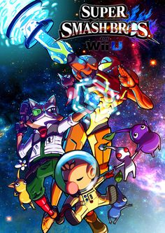 Smash Bros - Space Travellers