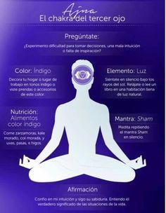 Chakra del tercer ojo Sham  Meditación