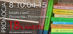 18% rabatu na książki z serii Psychiatria i Psychoterapia www.wuj.pl
