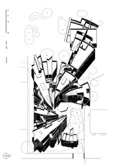 """Image 11 of 39 from gallery of Interview with Zvi Hecker: """"Good Architecture Cannot Be Legal; Architecture Mapping, Architecture Concept Diagram, Paper Architecture, Architecture Drawings, Amazing Architecture, Fine Arts Center, Isometric Drawing, Concept Draw, 17th Century Art"""