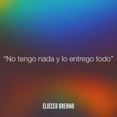 No tengo nada y lo entrego todo Eliécer Brenno La Causa http://ift.tt/2ggOU9J #todo #quotes #writers #escritores #EliecerBrenno #reading #textos #instafrases #instaquotes #panama #poemas #poesias #pensamientos #autores #argentina #frases #frasedeldia #CulturaColectiva #letrasdeautores #chile #versos #barcelona #madrid #mexico #microcuentos #nochedepoemas #megustaleer #accionpoetica #colombia #venezuela