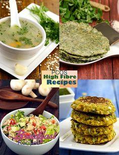 PCOS High Fibre Recipes, PCOS Fibre Rich Recipes, Veg   Page 1 of 2