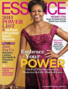 First Lady Michelle Obama for Essence Magazine October 2011