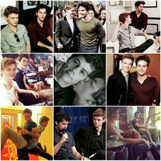 Dylan O'brien & Thomas Brodie-Sangster.  I don't know if i ship more Dylmas or Hoebrien... Hard question !