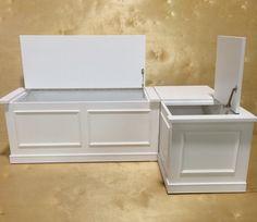 Banquette Corner Bench Seat With Storage By Prairiewoodworking