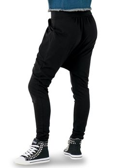 Skinny Cotton Harem Pants   Urban Groove®