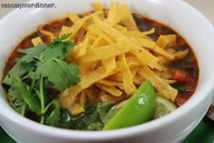 Eat Cake For Dinner: Copycat Cafe Rio Tortilla Soup