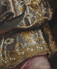 Judith by Fede Galicia - Jewelry World Renaissance Paintings, Renaissance Art, Classic Paintings, Beautiful Paintings, Fashion History, Fashion Art, Victorian Art, Classical Art, Detail Art