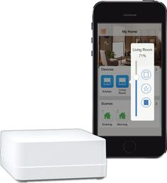 """This is a set of motorized shades that works in conjunction with the specialized Lutron app, allowing you to control the natural light situation throughout your home with precision. The app itself is free and comes on both Apple and Android phones and tablets, allowing you to set the light and shade from anywhere on earth. Similar to the Hunter Douglas, you can program """"scenes"""" to set a specific look for a given room."""