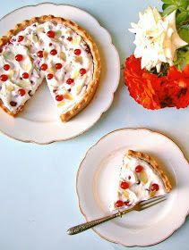 Candy's: Ribizlis-mascarponés pite Jambalaya, Flan, Pancakes, Cupcake, Breakfast, Mascarpone, Pudding, Morning Coffee, Creme Brulee