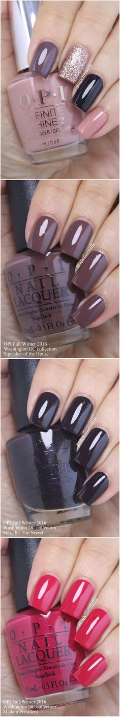 #Fall, #Nail, #OPI, #Swatches http://funcapitol.com/opi-nail-swatches-fall/