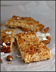 Coconut-Almond Bars {Kind Bar Copycat Recipe}