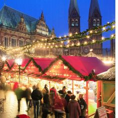 Guide to UK and European Christmas markets. Oh how I'd love to visit these someday!