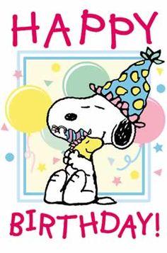 Snoopy ~ Happy Birthday!