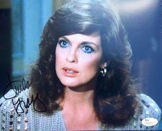 Linda Gray (Sue Ellen Ewing) Dallas Signed 8x10 Photo Jsa N35179