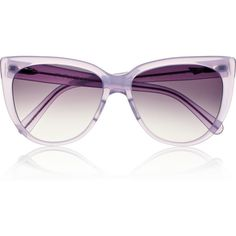Prism Moscow cat eye acetate sunglasses (€295) ❤ liked on Polyvore featuring accessories, eyewear, sunglasses, glasses, purple, purple glasses, prism glasses, prism sunglasses, cat eye sunglasses and acetate sunglasses