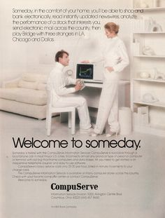 1982: Welcome to Someday #compuserve