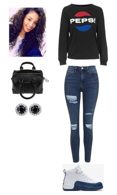 """Outfit for Saturday"" by mayawhite04 on Polyvore featuring NIKE, Topshop and Givenchy"