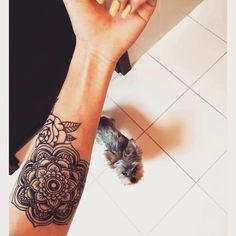 my second tattoo idea ❤️ let's build that sleeve full of roses and mandalas !