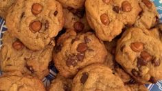 """""""I had a craving for chocolate chip cookies with caramel chunks. All I had on hand for salt was coarse salt and, much to my surprise, the result was delicious.""""    Ingredients    3 cups all-purpose flour  1 teaspoon baking"""