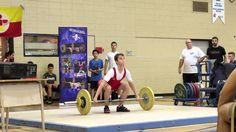 Simon Vaillancourt - 14 ans - Jeux du Québec régionaux - 30 janvier 2016 63kg à l'arraché