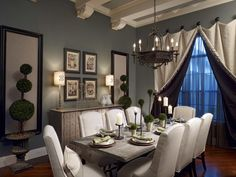 What do you think of this more formal dining room design?  Coastal Virginia Magazine's Best Kitchen & Bathroom Remodeler#dogoodwork #kitchendesign #hgtv #kitchen #bathroom #homeimprovement #home #remodeling #remodel