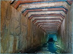 For one of my albums in process I'm inspired by sound in a sewer!