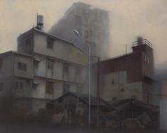 Soul – landscape 信仰與迷惘 吳易澤 油畫 130x162x3cm