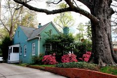 homes with painted brick | Inside and Out | Painted Brick Houses | Design Sensibility