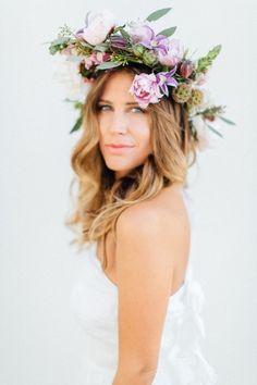 Incredible floral crown