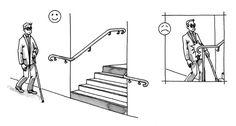 Accessibilité bâtiment - BHC neufs - Circulations intérieures verticales des parties communes - Escalier - Circulaire