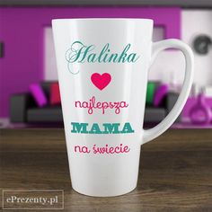 Masz najlepszą Mamę na świecie? Oczywiście! Dlatego na urodziny podaruj jej kubek, który codziennie będzie jej przypominał jak bardzo ją kochasz :) http://bit.ly/1f5aqcW