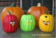 trunk or treats anger birds | Angry Birds Pumpkins | trunk or treat