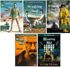 Only a few hours left on this sale! Breaking Bad: Seasons 1-5 BOX SET (2013)