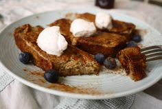 March 21, 2016 is National French Bread Day. Help your audience celebrate by sharing your opinion of this Banana Bread French Toast recipe with them.  Join the Nutrition Entrepreneurs Mastermind for free, for more resources to help you Get Nutrition Clients. http://www.GetNutritionClients.com/nem