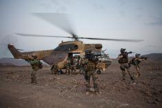 French Commando Trepel, Djibouti