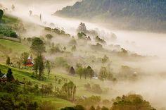 Rustic Landscape in Romania