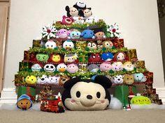 TsumTsum Christmas tree #tsumtsum #disney