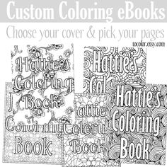 Custom Coloring eBook - Girl Boss Coloring Pages - Motivational ...
