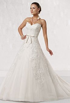 Kathy Ireland For Mon Cheri Wedding Dresses | Brides.com