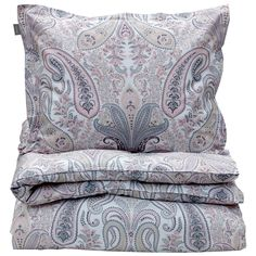 Key West Paisley, double, light pink. from Gant Home. Satin woven Egyptian cotton. Just bought two sets!