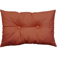 Essenza Dex Cushion - 40x60cm - Orange ($22) ❤ liked on Polyvore featuring home, home decor, throw pillows, orange, orange home accessories, orange home decor, orange throw pillows, button throw pillow and tangerine throw pillows
