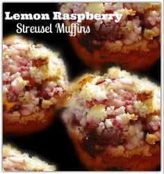 Lemon Raspberry Streusel Muffins ⋆ The NEW N!FYmag
